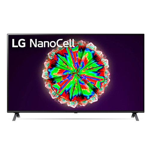 "Televisor LED 55"" 4K LG 55NANO806NA  Smart TV negro"