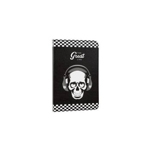 Funda tablet e-vitta stand 2p skull great life 10,1""