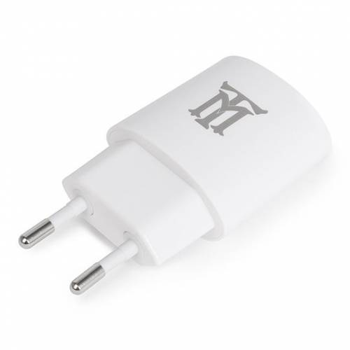 Cargador usb maillon pared basic 2,1a blanco 1 conector