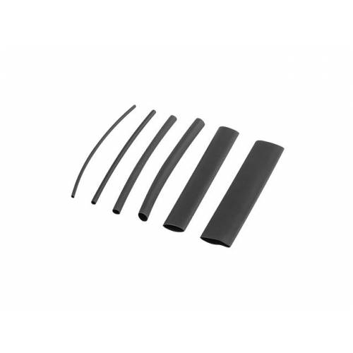Tubo lanberg termorretractil 100 uds 100mm x1,5 a 13mm negro