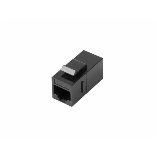 Adaptador lanberg keystone feed-thru rj45 a rj45 utp cat6